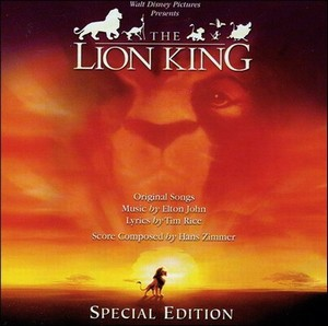 Lion King & Rhythm of the pride Soundtrack 2003